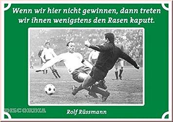 Postkarte Lustige Fußballzitate Wenn Wir Nicht Gewinnen