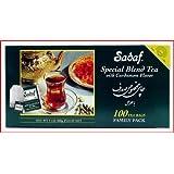 Sadaf 100 Count Special Blnd Tea with Cardamom Flavor