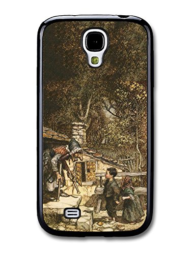 Vintage Fairy Tale Hansel and Gretel Cool Illustration Style Fashion Design coque pour Samsung Galaxy S4