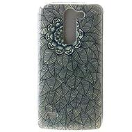 Pour LG G3 Stylus D690 Coque,Ecoway Housse étui en TPU Silicone Shell Housse Coque étui Case Cover Cuir Etui Housse de Protection Coque Étui LG G3 Stylus D690 –Multi-leaf flower