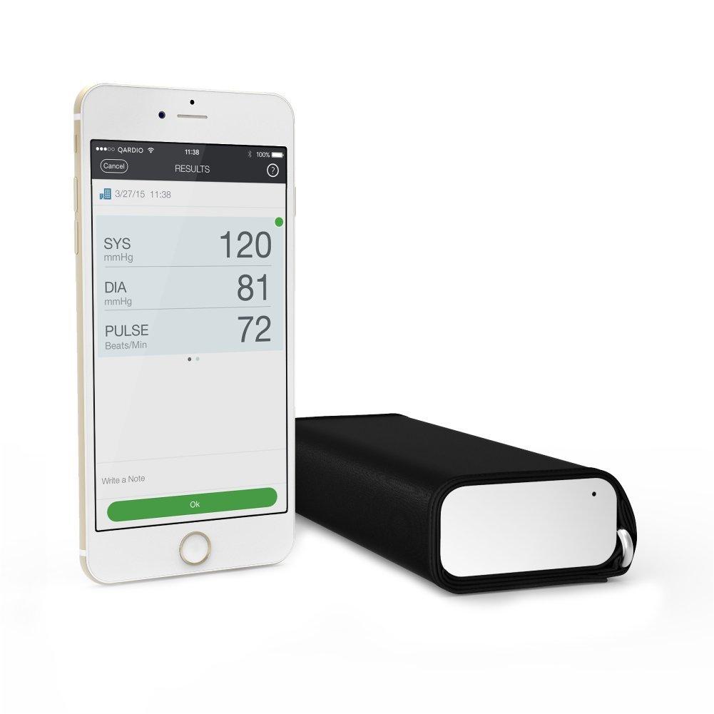 QardioArm Blood Pressure Monitor FSAEligible Medically Accurate Compact Digital Upper Arm Cuff App