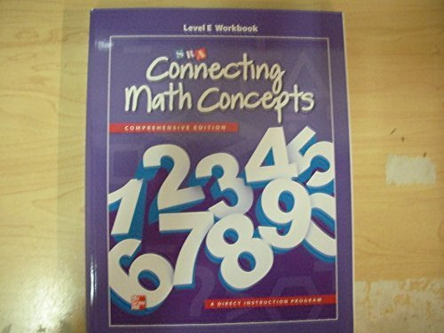 Connecting Math Concepts Level E, Workbook by McGraw-Hill Education - Perth Australia Shopping Online