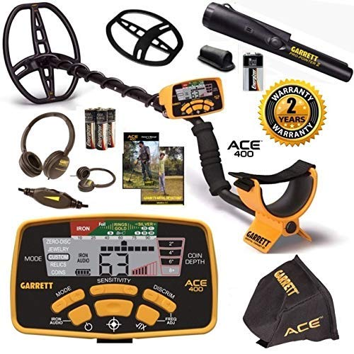 Garrett Ace 400 Fall Special with Free Accessories and Pro Pointer II Pinpointer Review