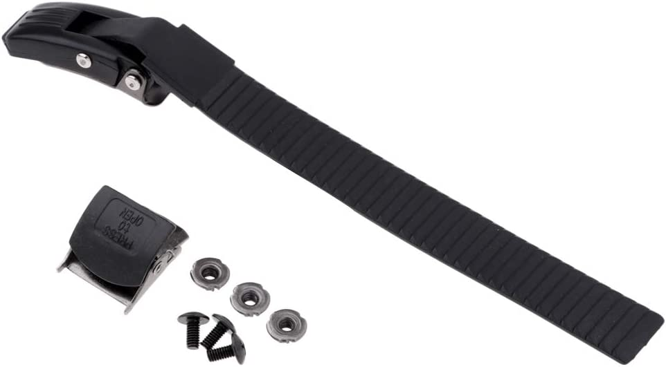 Outdoor Skating Parts Strap Buckle CUTICATE Skates Energy Strap Replacement Accessories for Inline Roller Skate Wheel Repair Tools