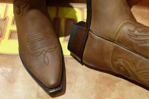 Sendra Boots 2605mo Braun * Incl. Zanzara Originale ® Stiefelknecht *