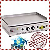 28 '' ( 70 cm ) PROPANE GAS Commercial Kitchen Equipment Countertop Flat Top Grill Restaurant Cooktop Manual Griddle Propan LPG