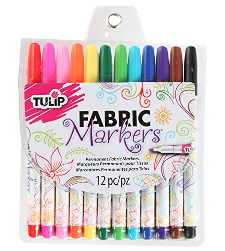 tulip-fabric-markers-fine-tip-12pk