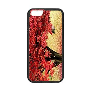 Maple Tree Branch iPhone 6 4.7 Inch Cell Phone Case Black