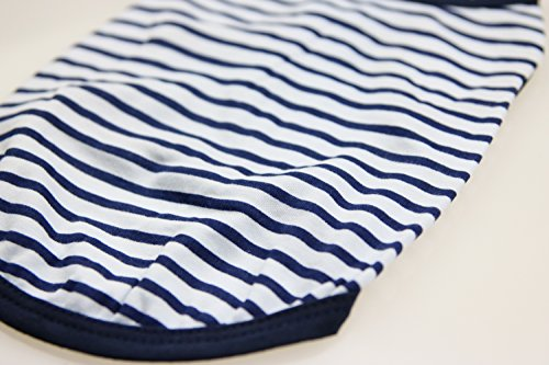 2 DroolingDog+Small+Clothes+Striped+Tshirts
