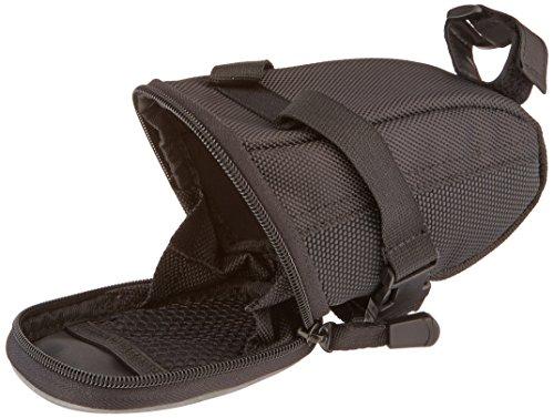 AmazonBasics Strap On Wedge Saddle Bag for Cycling