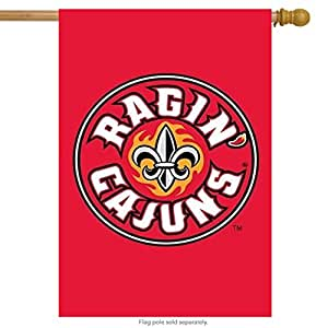 University of Louisiana at Lafayette Ragin' Cajuns NCAA Licensed House Flag