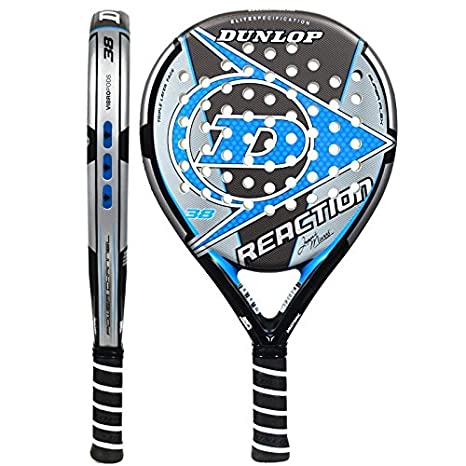 Pala de pádel Dunlop Reaction Blue: Amazon.es: Deportes y aire libre
