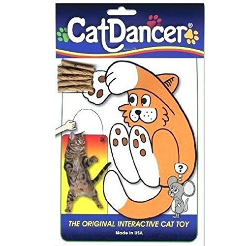 Deluxe Antimicrobial Mouse Mat (BEST CAT TOY EVER,Cat Dancer The Original Interactive Cat Kitten Action Toy)