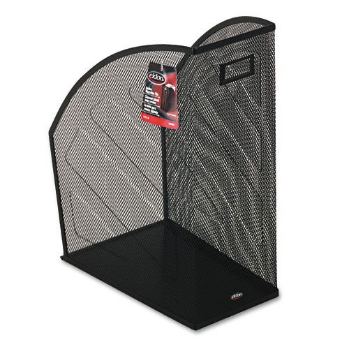 (Rolodex : Nestable Rolled Mesh Steel Jumbo Magazine File, 5 7/8 x 10 x 12 1/2, Black -:- Sold as 2 Packs of - 1 - / - Total of 2 Each)