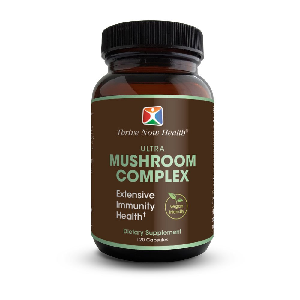 Thrive Now Health Ultra Mushroom Complex, 120-Ct.