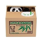 SPM168 Cute Stealing Coin Little Panda Money Bank,Saving Box,Panda Money Box by Unknown