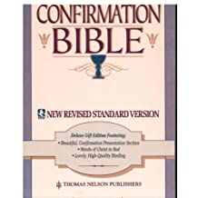 Confirmation Bible/New Revised Standard Version, No 1804Bg/Burgundy Leather Flex