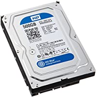 Western Digital Blue WD5000AZLX 500GB 7200 RPM 32MB Cache SATA 6.0Gb/s 3.5 Internal Hard Drive Bare Drive