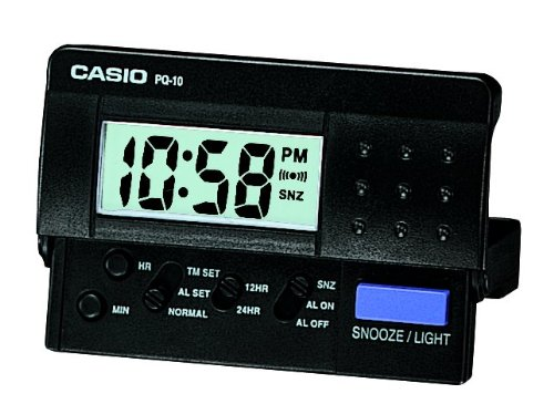Casio Collection Wecker Digital Quarz PQ-10-1ER