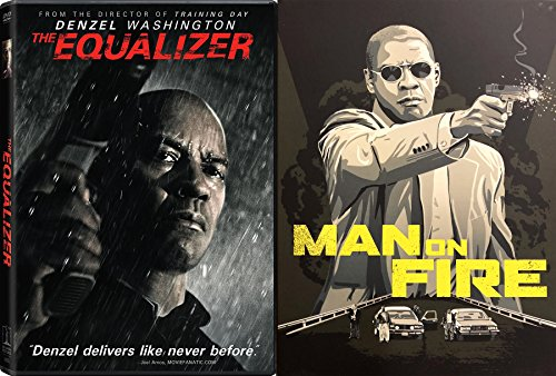 McCall will help Denzel Washington Equalizer 2 Pack + Man on Fire Double Feature DVD Movie Set (Series Watch President Mens)
