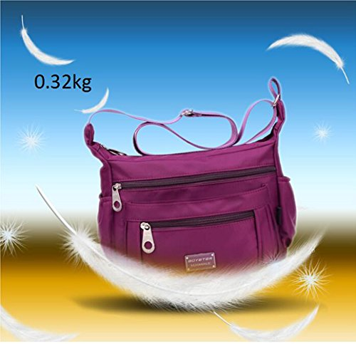 Messenger Deep Nylon Bag Women C Blue Shoulder Crossbody For Tibes Blue Patterned Ladies Bag Bag Girls C78wUnqHEx