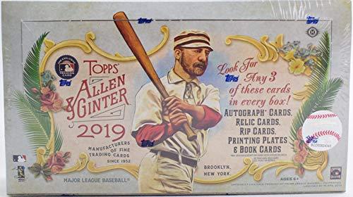2018 Topps Allen Ginter Hobby Box 24 Packs8 Cards 3 Hits