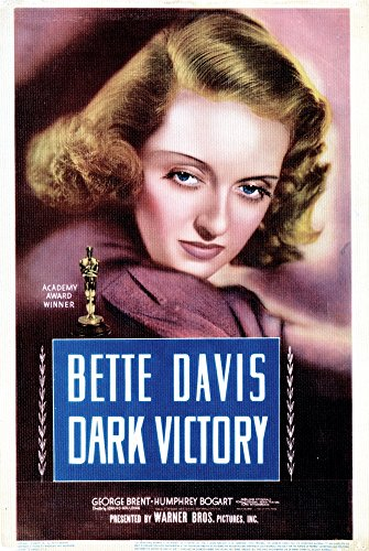 Davis Movie Poster - Posterazzi Dark Victory Us Bette Davis 1939 Movie Masterprint Poster Print (24 x 36)
