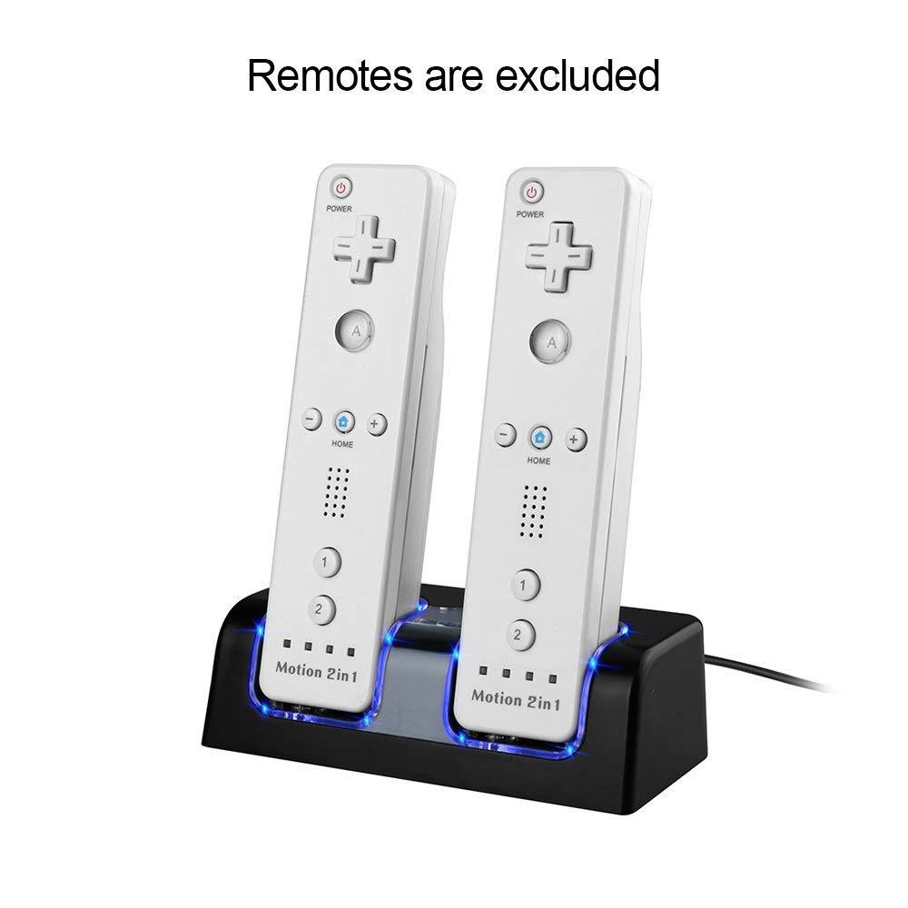 Amazon.com: Maliralt LP12 - Base de carga para Nintendo Wii ...