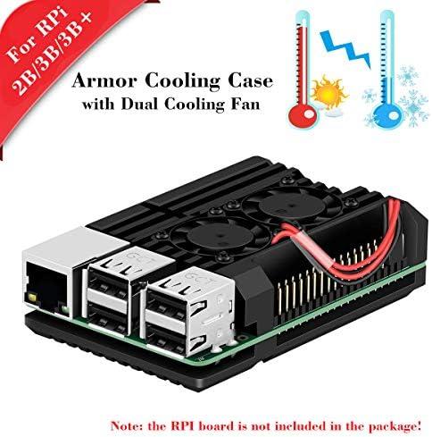 Aluminum Alloy Metal case for Raspberry PI 3 Model