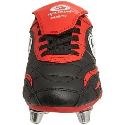 Rugby Optimum Youth Boot Blaze Black Red Erq4vqx0w