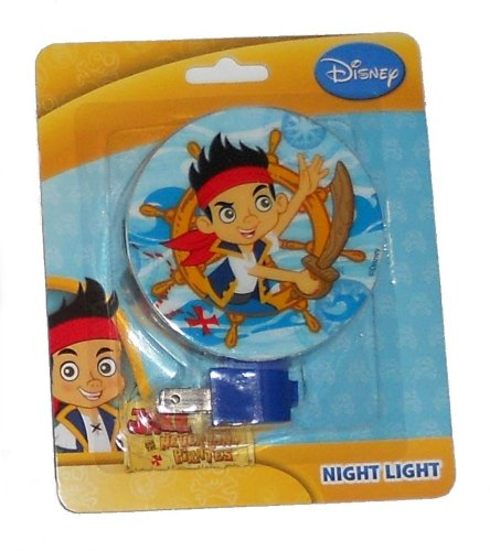 Jake and the Neverland Pirates Night Light (Jake in the Boat Wheel) ()