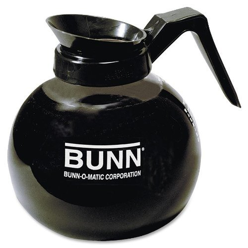 Bunn 3 Pack - 12-cup Decanter, Regular, Clear/black Handle (3) 424000101