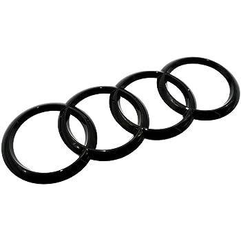 Amazon Com Audi Matte Black Rear Emblem Decal Logo Trunk