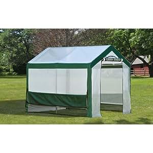 ShelterLogic Grow-It Organic Growers Greenhouse with Mesh Scrim Cover, 6 x 8 x 6-Feet