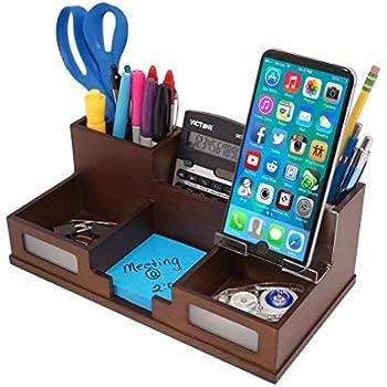 Amazon Com Acrylic Office Desk Organizer With Drawer 9