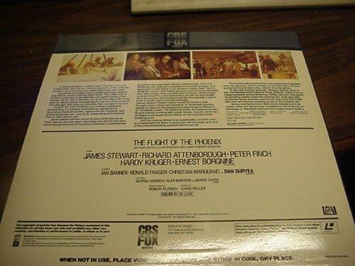 Laser Disc, Laserdisc of The Flight Of The Phoenix.