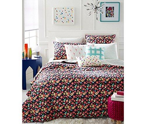 MARTHA STEWART - Whim Pretty in Poppy Multi Color Standard (Martha Stewart Poppy)