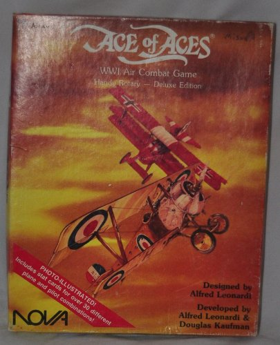 Wwi Air (1986 ACE OF ACES - WWI Air Combat Game Handy Rotary - Deluxe Edition)