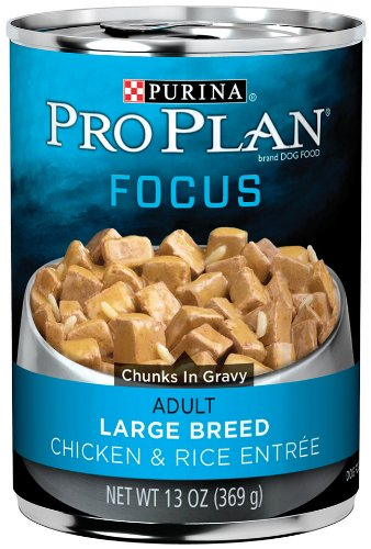 Purina pro plan wet dog food focus adult large breed for Purina tropical fish food