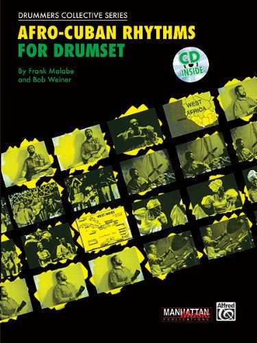 Afro-Cuban Rhythms for Drumset - Bk+CD
