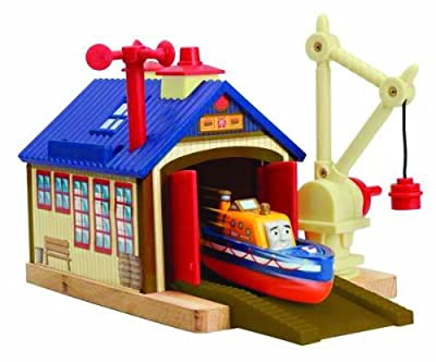 Thomas And Friends Wooden Railway - Captain's Shed Story Pack