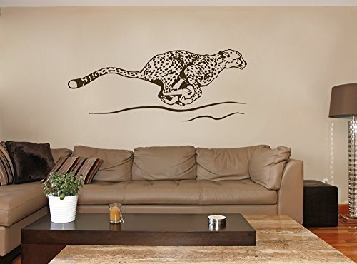 cheetah wall decals - 3