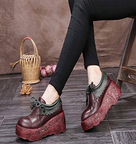 Zapatos Casuales Y Cómodos De Fondos Blandos Gruesos A Mano Red