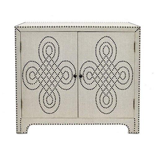 Benzara HRT-77183 Trendy Wood Cabinet