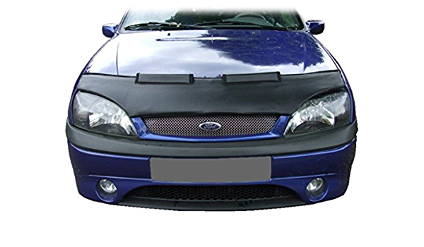 Bonnet stone guard cover compatible with Ford Mondeo 1995-1996 carbon-look