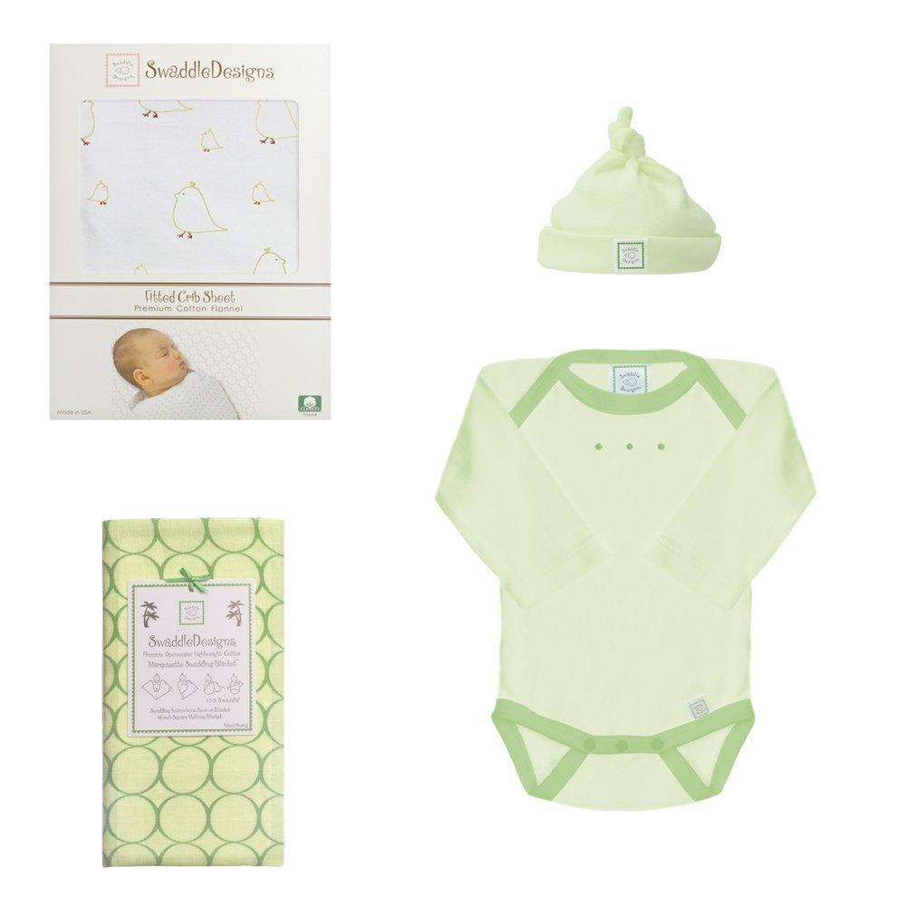 Amazon.com : 4 pieza recién nacido Ligera lecho del pesebre Set ...