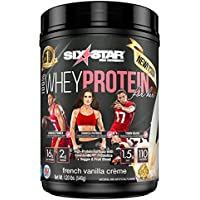 Six Star 100% French Vanilla 1.2 Pounds Whey Protein For Her Powder