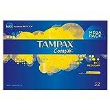 Tampax Compak Applicator Tampons Regular (32)
