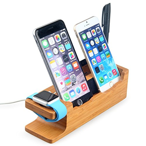 Bamboo Charging iPhone Cradle Released