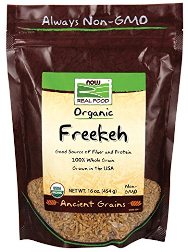 NOW Foods Organic Freekeh, 16-Ounce